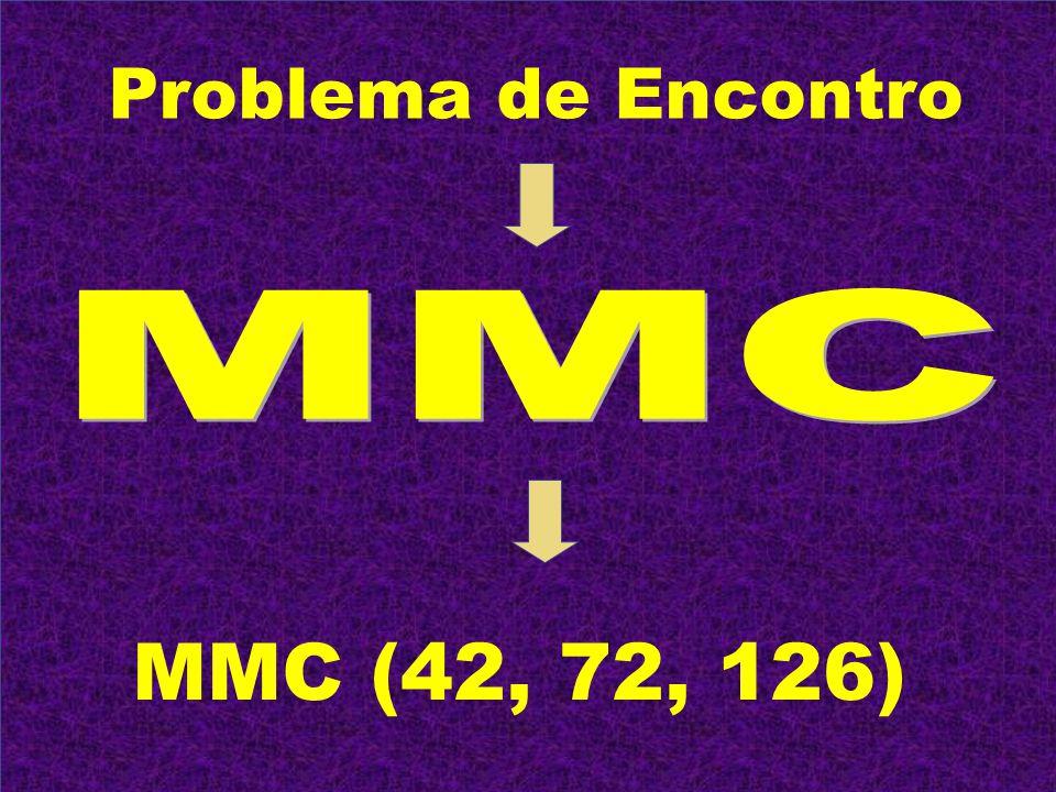 Problema de Encontro MMC MMC (42, 72, 126)