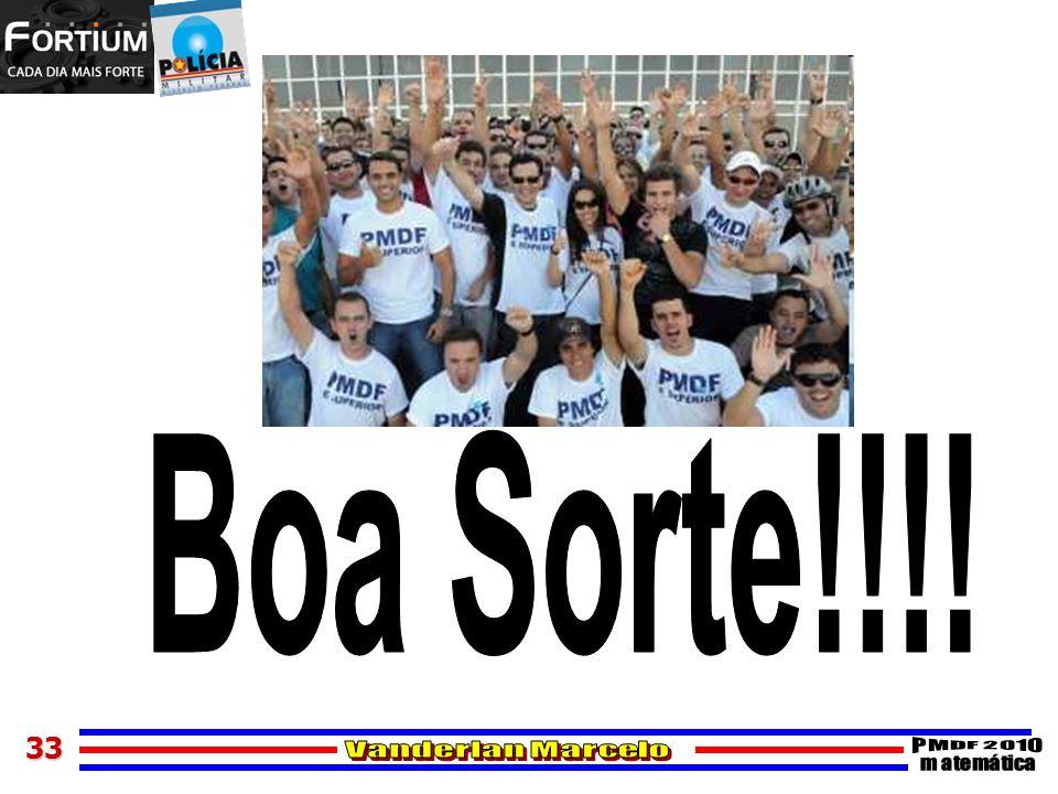 Boa Sorte!!!!