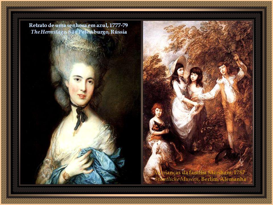 As crianças da família Marsham, 1787