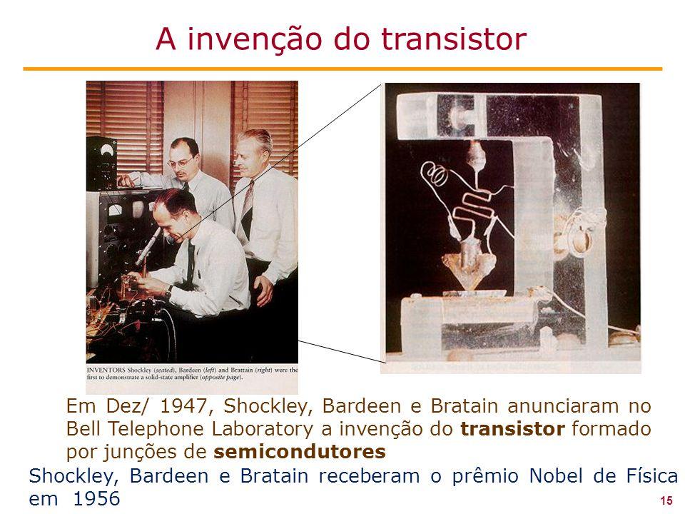 A invenção do transistor