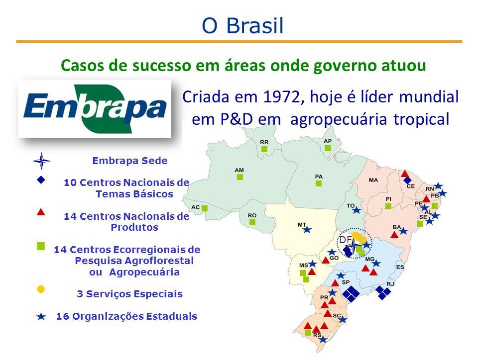 Casos de sucesso em áreas onde governo atuou