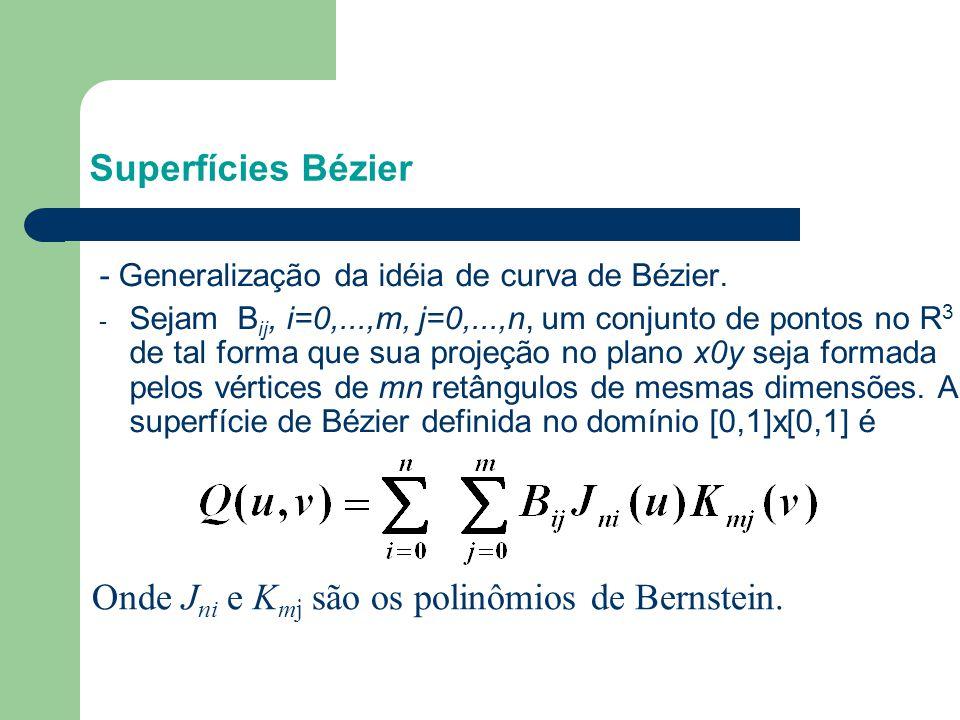 Onde Jni e Kmj são os polinômios de Bernstein.
