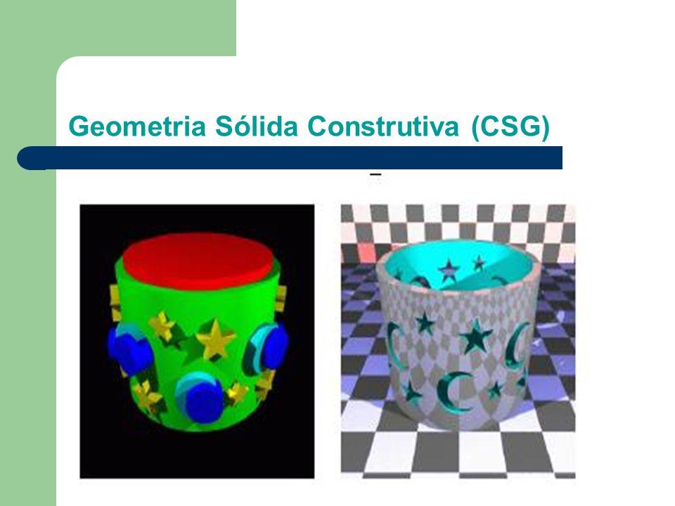 Geometria Sólida Construtiva (CSG)