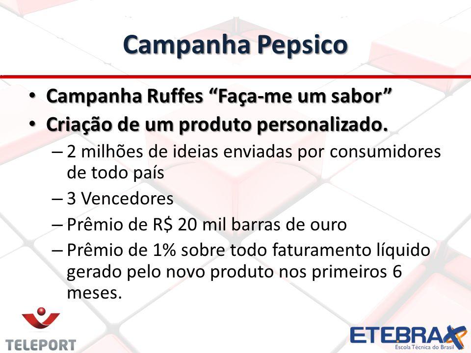 Campanha Pepsico Campanha Ruffes Faça-me um sabor