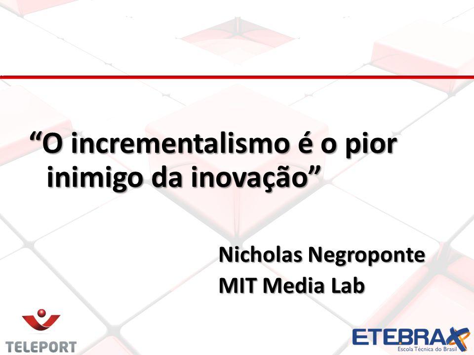 O incrementalismo é o pior inimigo da inovação