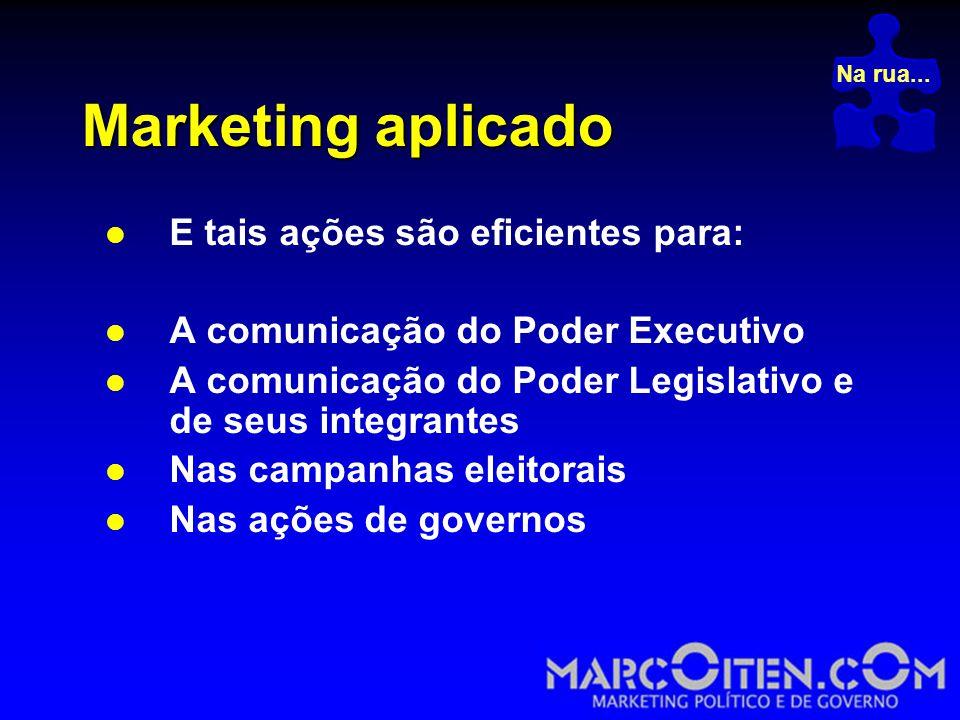 Marketing aplicado E tais ações são eficientes para: