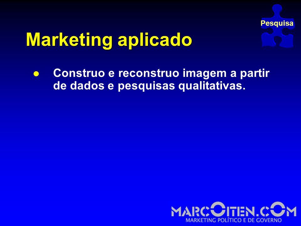 Pesquisa Marketing aplicado.