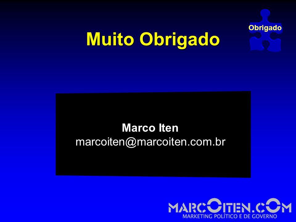 Obrigado Muito Obrigado Marco Iten marcoiten@marcoiten.com.br