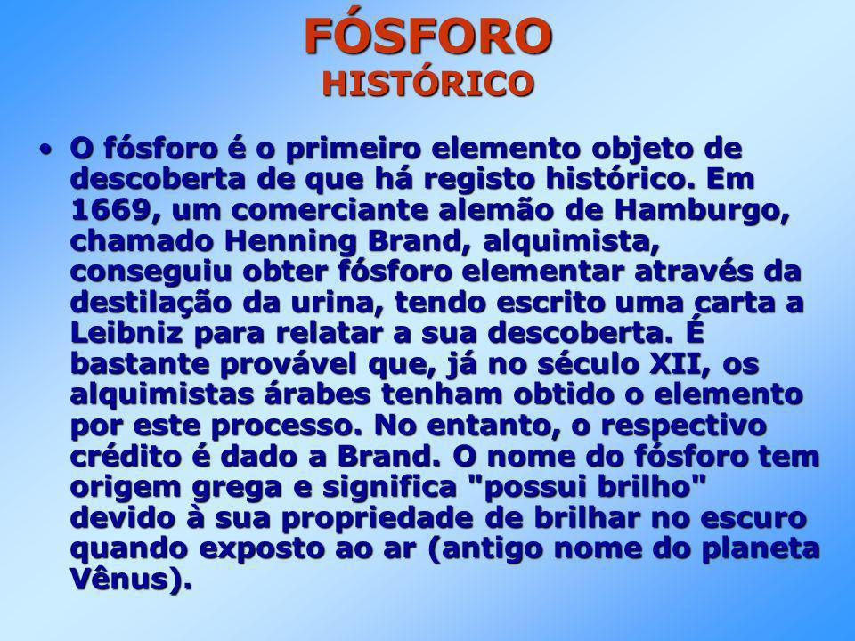 FÓSFORO HISTÓRICO