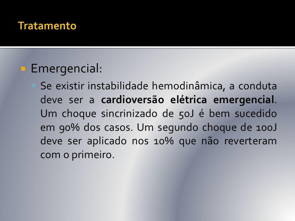 Emergencial: Tratamento