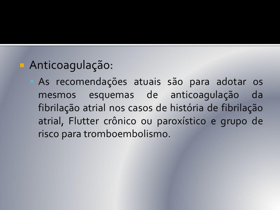 Anticoagulação: