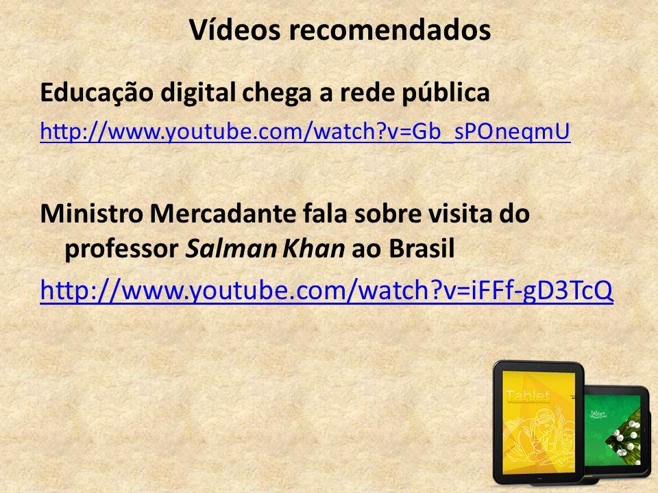 Vídeos recomendados Educação digital chega a rede pública