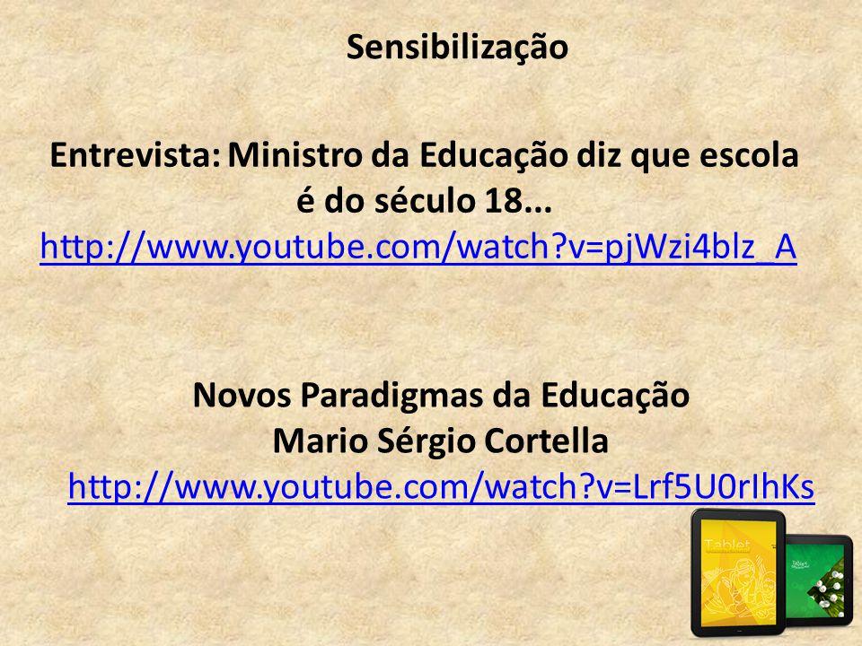 Entrevista: Ministro da Educação diz que escola é do século 18...