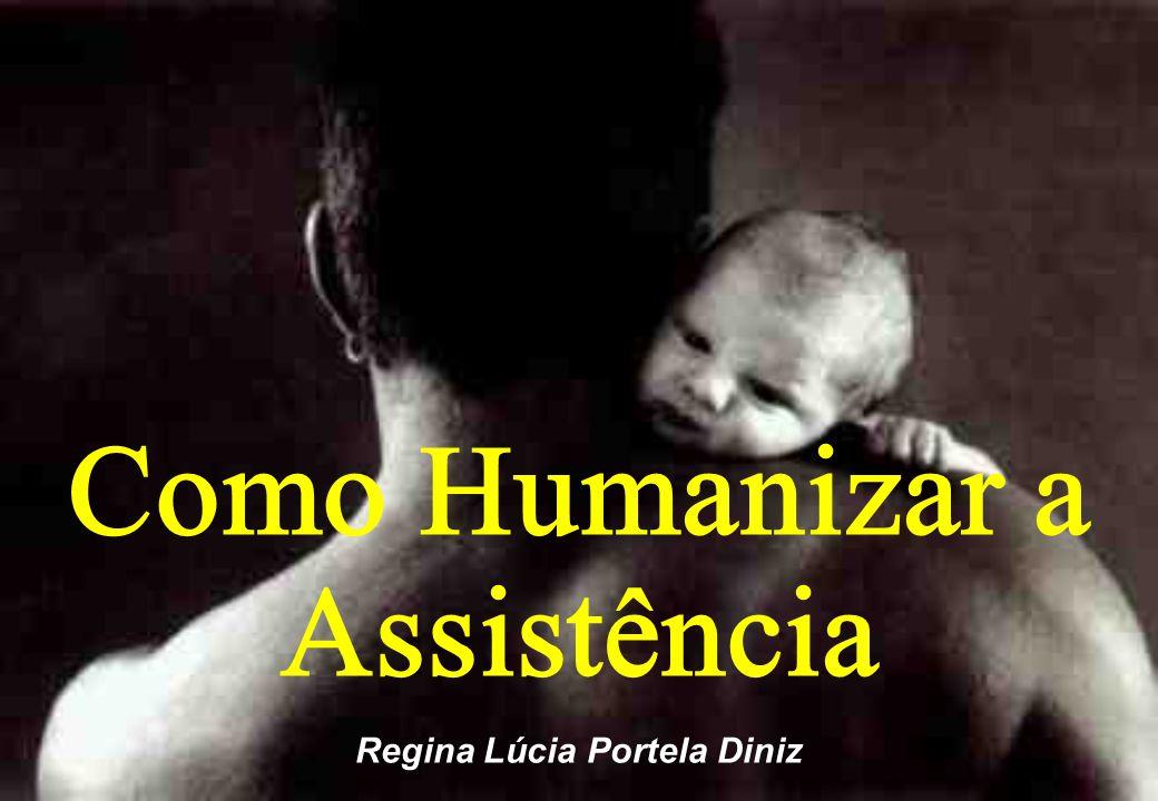 Como Humanizar a Assistência Regina Lúcia Portela Diniz