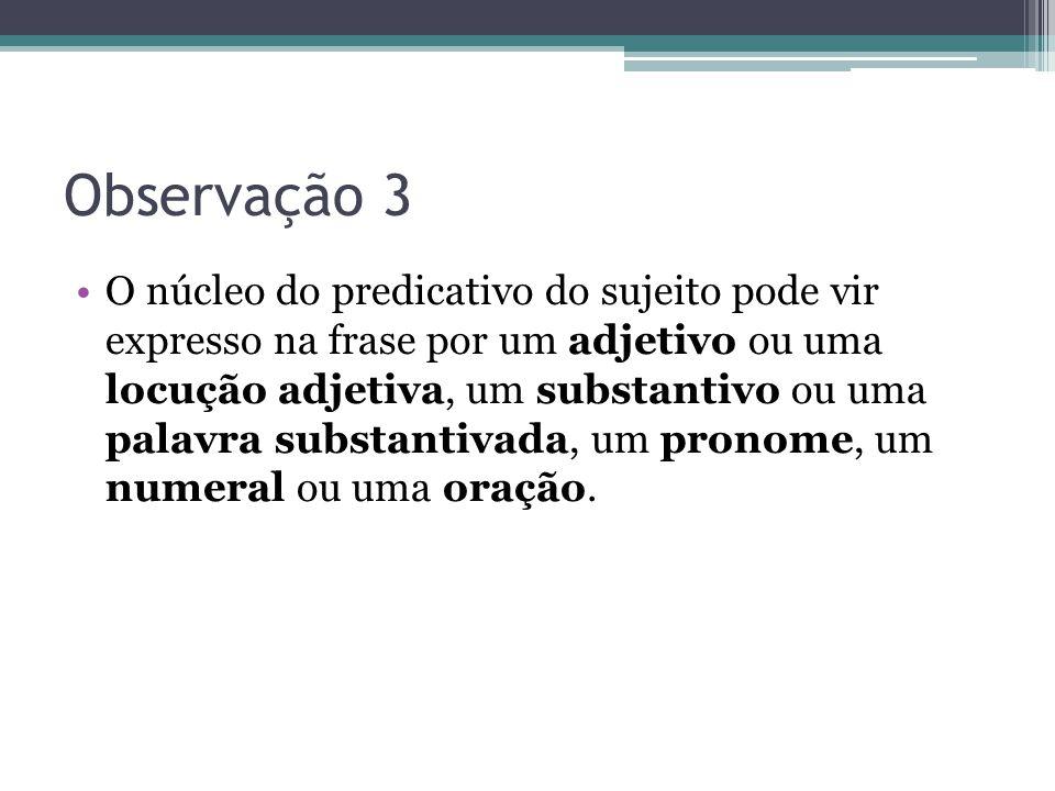 Observação 3
