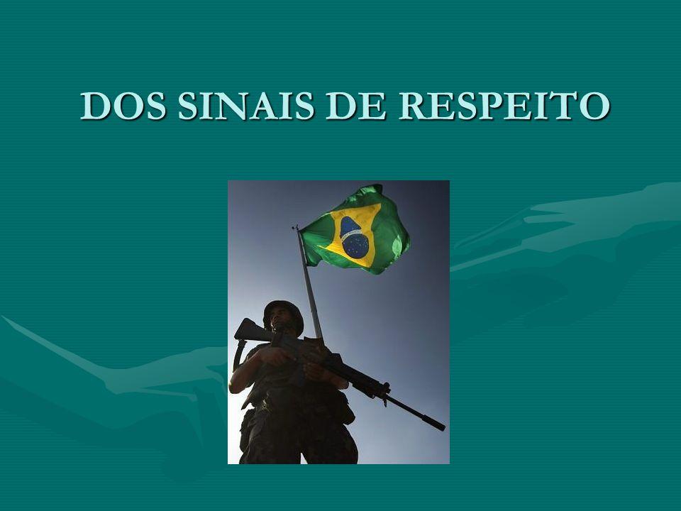 DOS SINAIS DE RESPEITO
