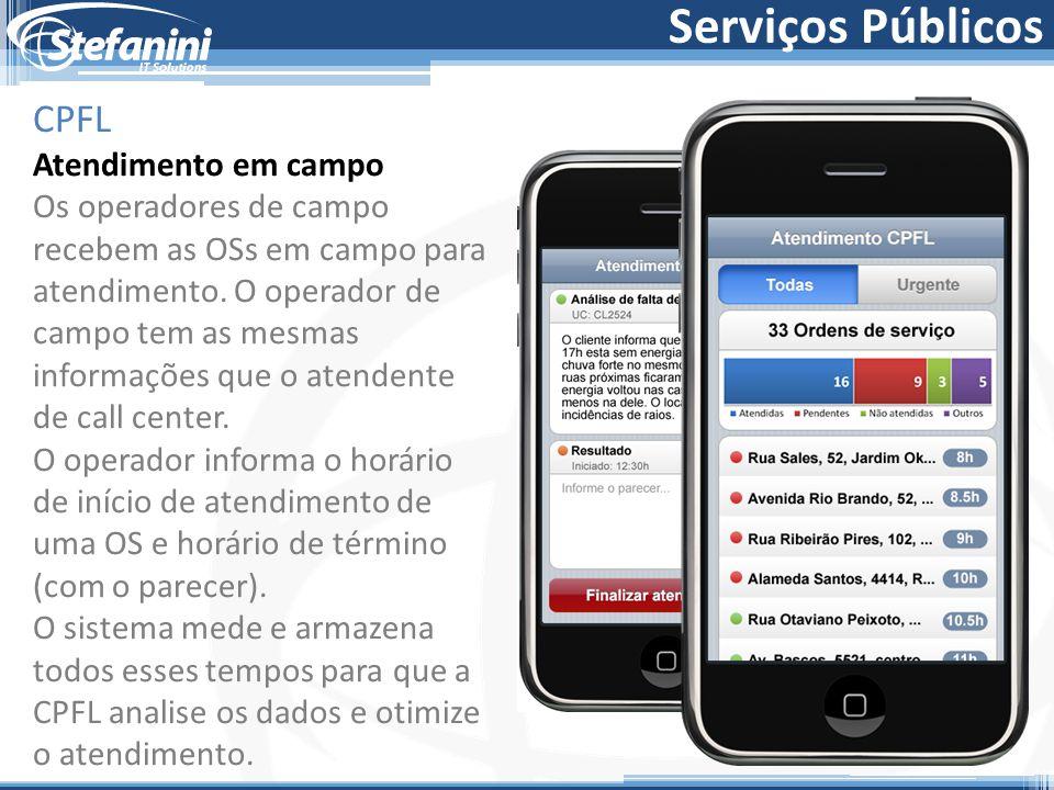 Serviços Públicos CPFL Atendimento em campo