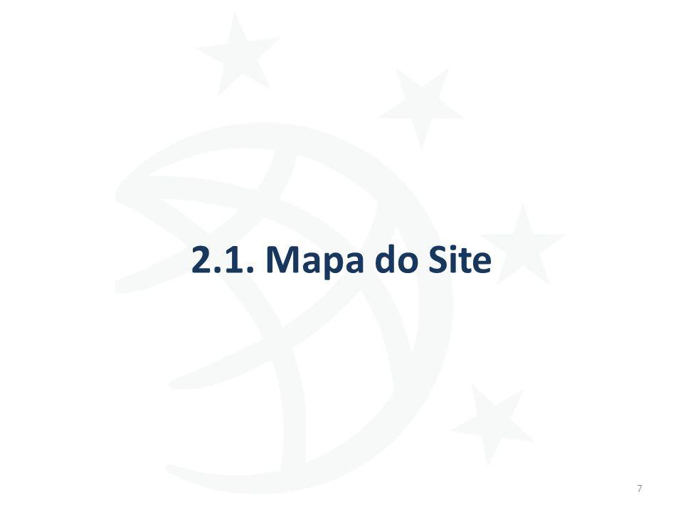 2.1. Mapa do Site