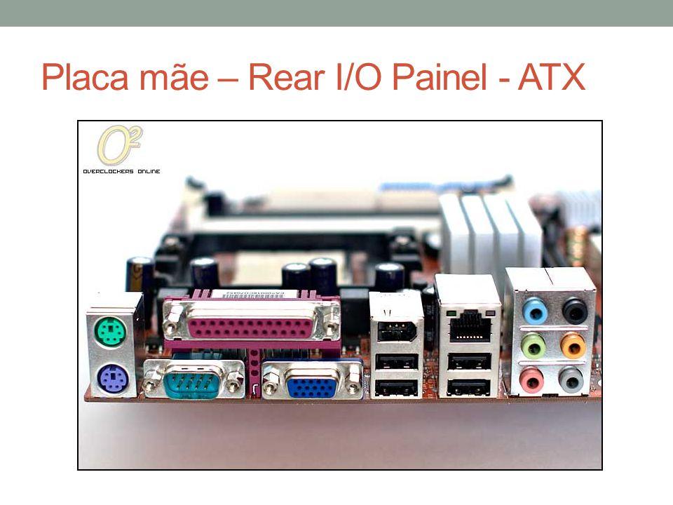 Placa mãe – Rear I/O Painel - ATX