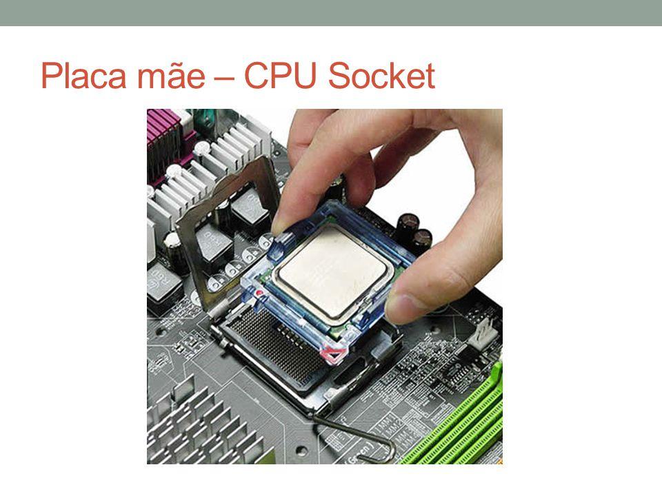 Placa mãe – CPU Socket