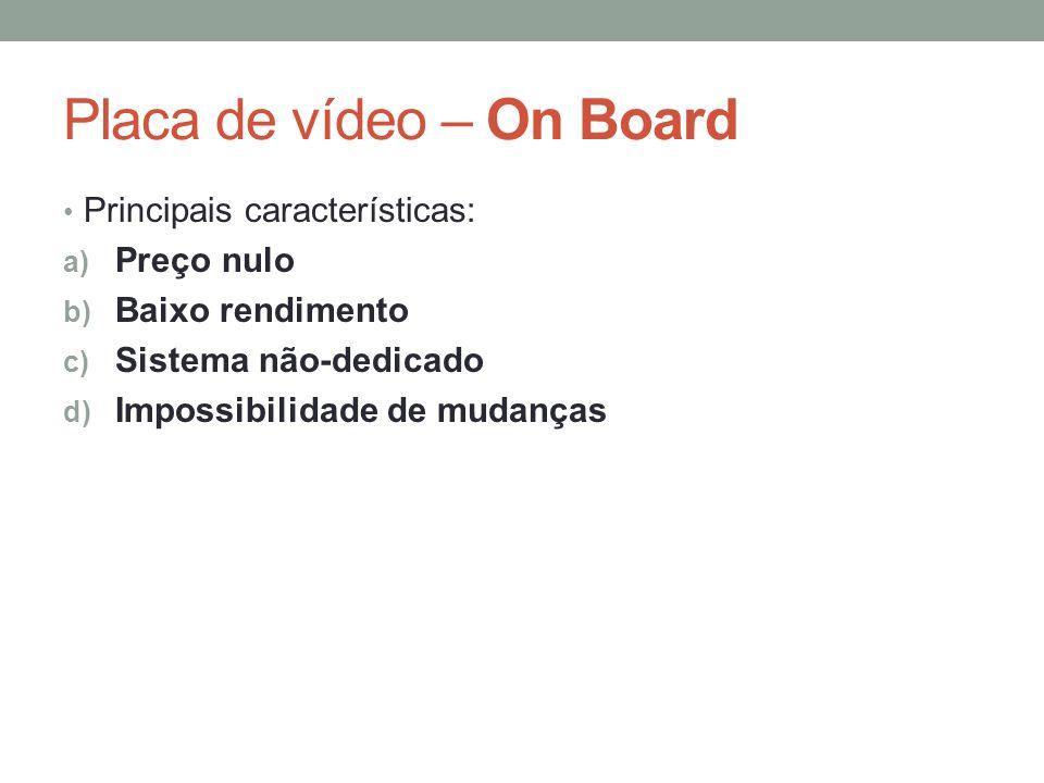 Placa de vídeo – On Board