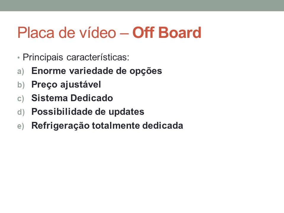 Placa de vídeo – Off Board