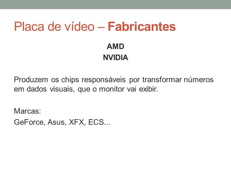 Placa de vídeo – Fabricantes