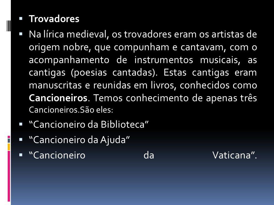 Trovadores