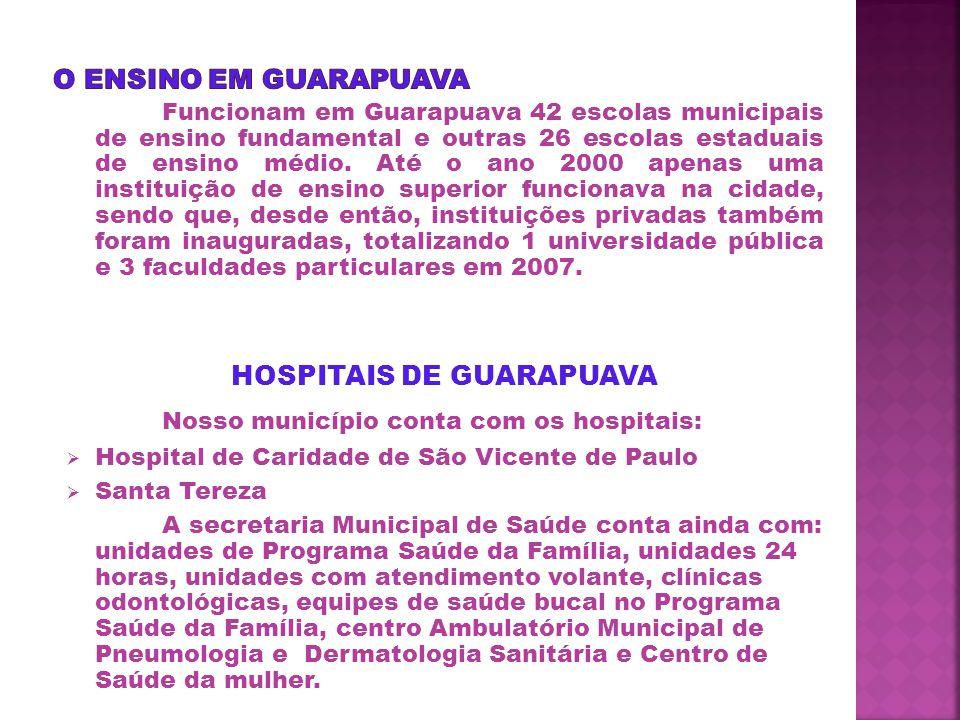 HOSPITAIS DE GUARAPUAVA
