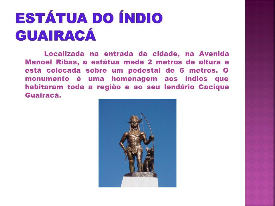 Estátua do Índio Guairacá