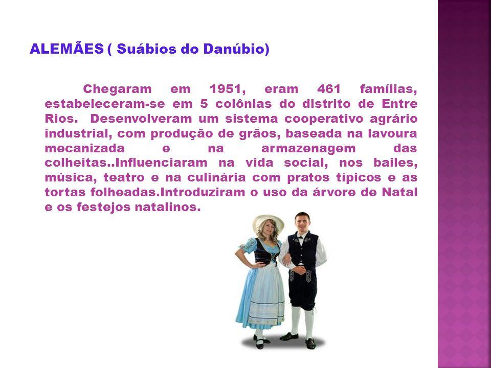 ALEMÃES ( Suábios do Danúbio)