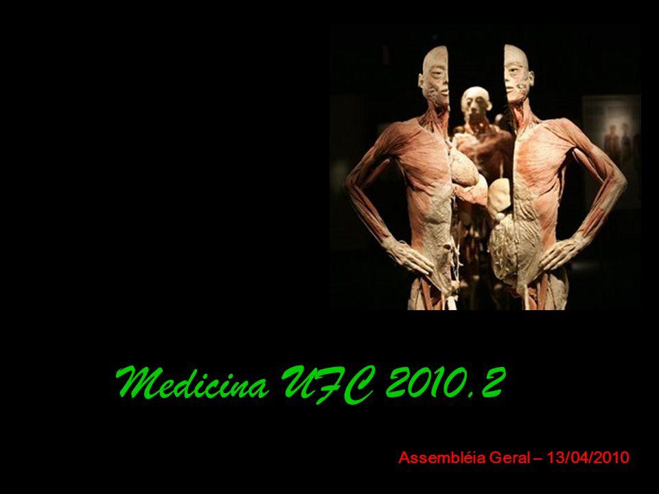 Medicina UFC 2010.2 Assembléia Geral – 13/04/2010