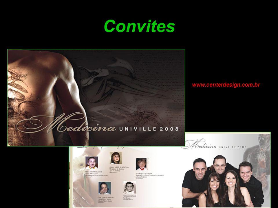 Convites www.centerdesign.com.br