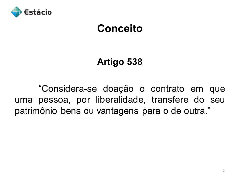 Conceito Artigo 538.