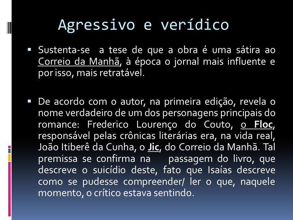 Agressivo e verídico