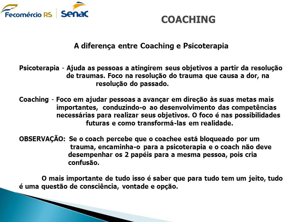 A diferença entre Coaching e Psicoterapia