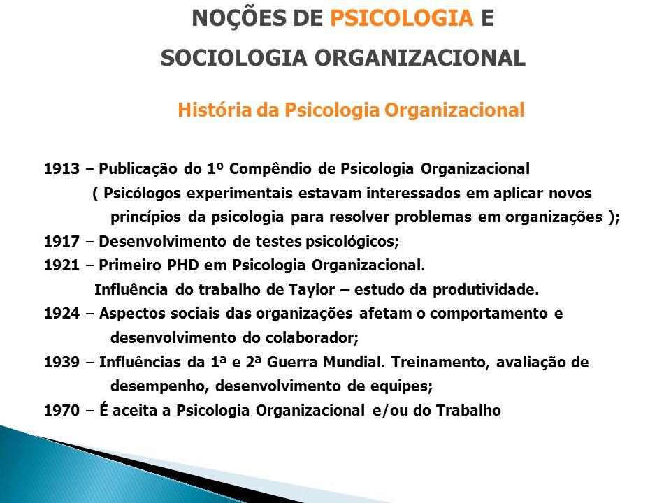 SOCIOLOGIA ORGANIZACIONAL