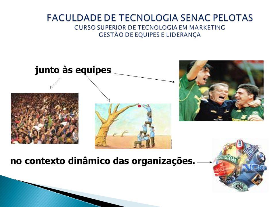 FACULDADE DE TECNOLOGIA SENAC PELOTAS CURSO SUPERIOR DE TECNOLOGIA EM MARKETING GESTÃO DE EQUIPES E LIDERANÇA