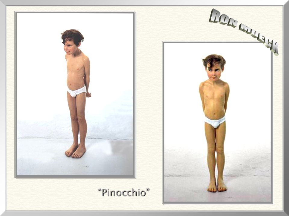 RON MUECK Pinocchio
