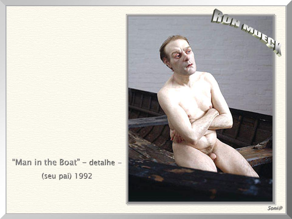 Man in the Boat - detalhe -