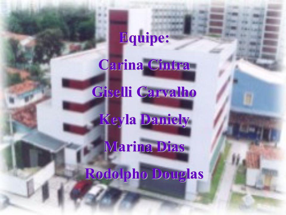Equipe: Carina Cintra Giselli Carvalho Keyla Daniely Marina Dias Rodolpho Douglas