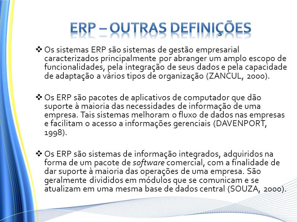 ERP – outras definições