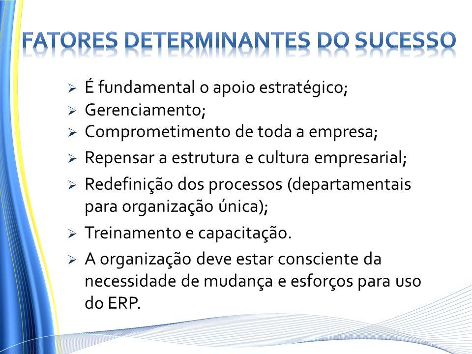 Fatores determinantes do sucesso