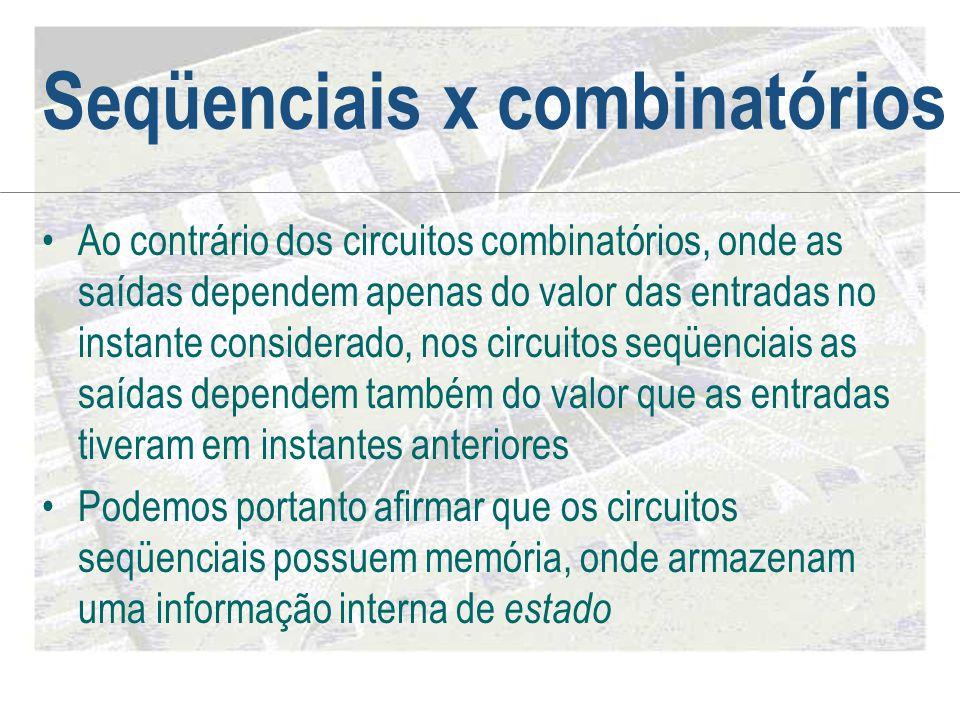 Seqüenciais x combinatórios