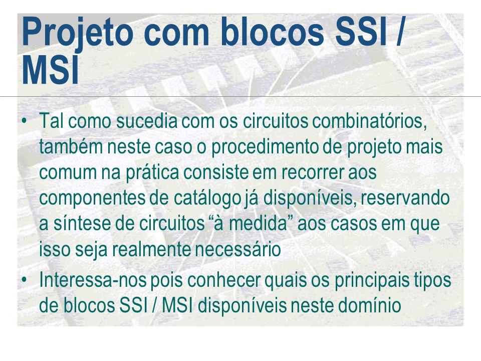 Projeto com blocos SSI / MSI