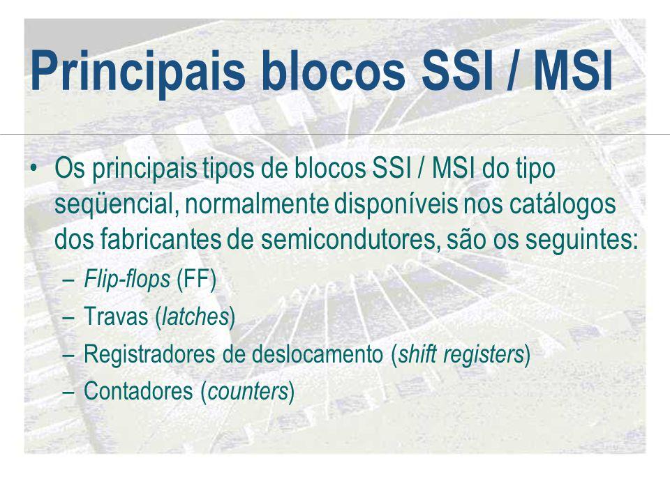 Principais blocos SSI / MSI