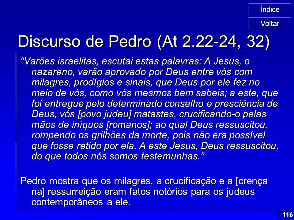Discurso de Pedro (At 2.22-24, 32)