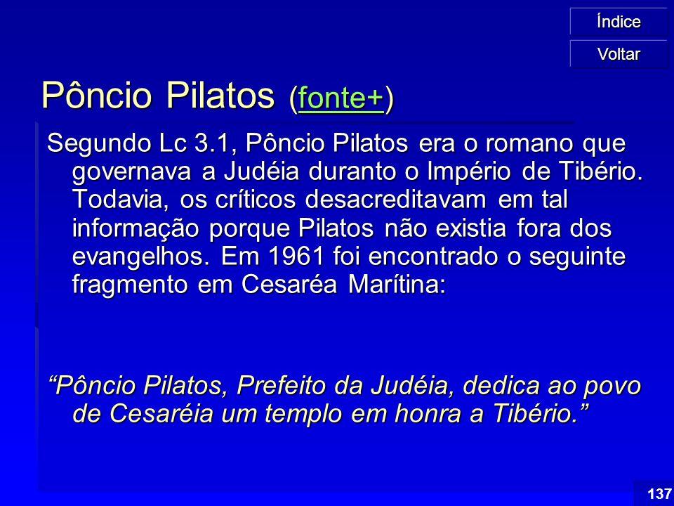 Pôncio Pilatos (fonte+)