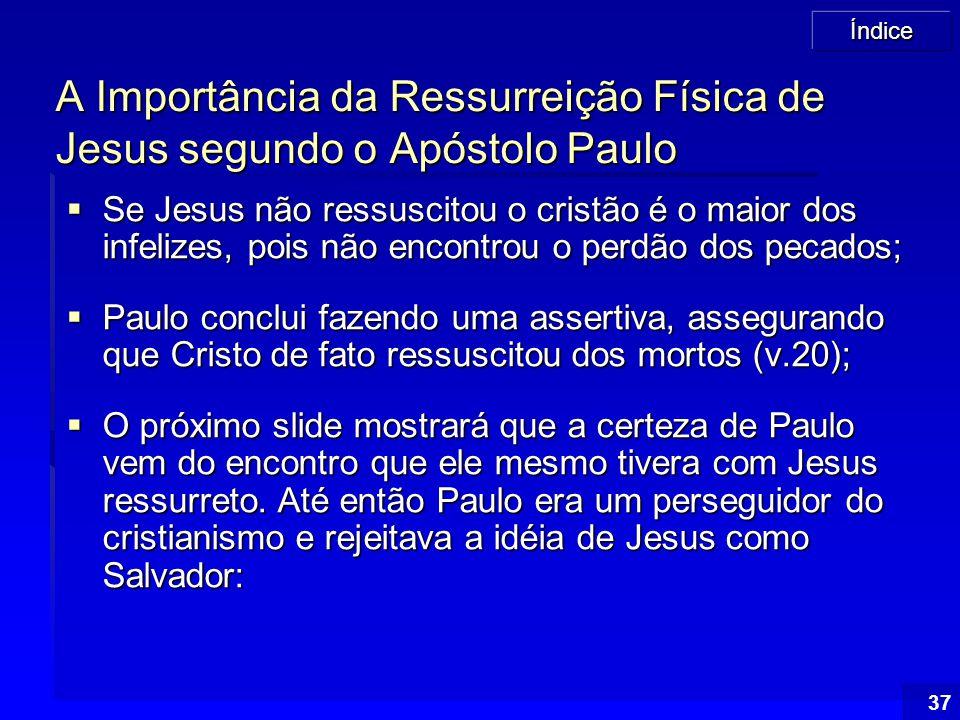 A Importância da Ressurreição Física de Jesus segundo o Apóstolo Paulo