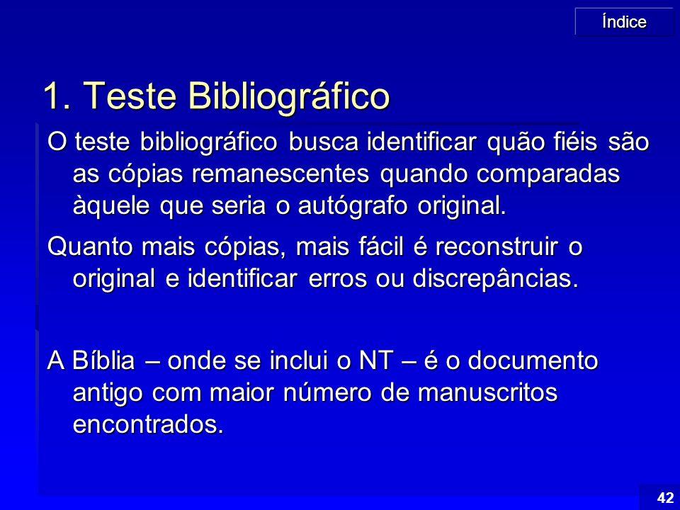 1. Teste Bibliográfico